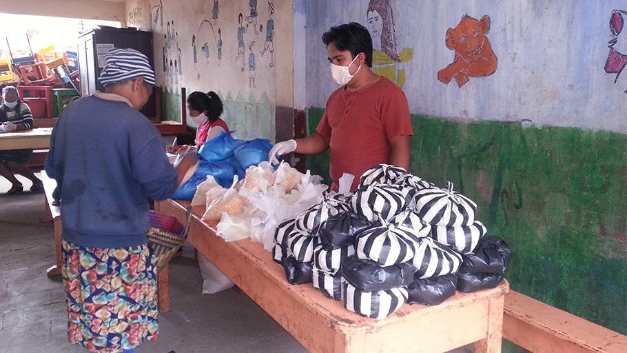 distribution nourriture